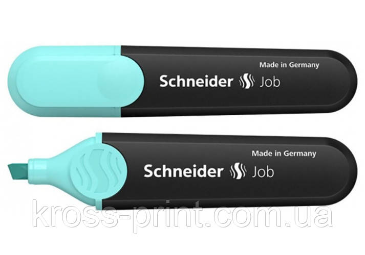 Маркер текстовиділювач SCHNEIDER JOB 1-4,5 мм, бірюзовий