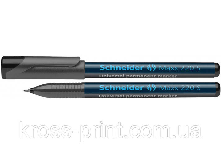 Маркер перманентний (спиртовий) SCHNEIDER MAXX 160 2-3 мм, зелений