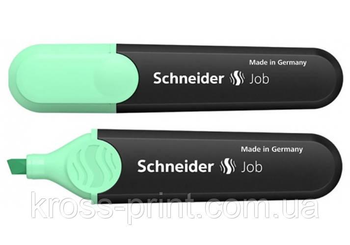 Маркер текстовиділювач SCHNEIDER JOB 1-4,5 мм, м'ятний