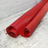 Кожа спилок сафьян красная (saffiano), фото 2