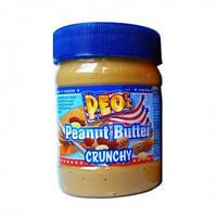 Арахісова Паста Peo's Peanut Butter Crunchy, 340 г