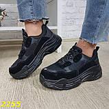 Кросівки жіночі на високій платформі OB2304, фото 4