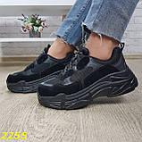 Кросівки жіночі на високій платформі OB2304, фото 5
