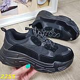 Кросівки жіночі на високій платформі OB2304, фото 6