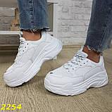 Кросівки жіночі на високій платформі OB2304, фото 2