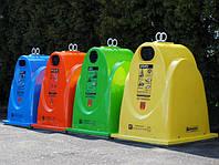 Стеклопластиковый контейнер для раздельного сбора мусора GFB