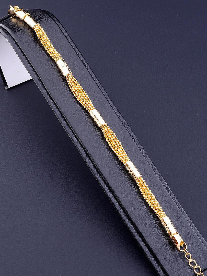 Браслет медицинское золото Xuping Jewelry  Jewelry 18 см  покрытие позолота