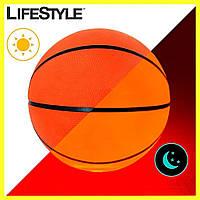 Светящийся в темноте баскетбольный мяч / Мяч с подсветкой