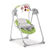 Кресло-качалка CHICCO Polly Swing Up (цвет: Green) 2016