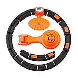Обруч HULA Hoop LED (W76) / ХулаХуп / обруч для похудения не падающий, фото 3