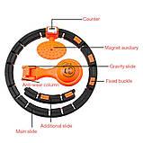 Обруч HULA Hoop LED (W76) / ХулаХуп / обруч для похудения не падающий, фото 5