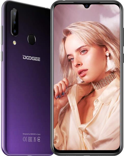 "Смартфон DOOGEE N20 4/64GB 6.3"" 4350мАч Purple"
