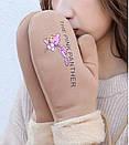Оригинальные крутые варежки розовая пантера рукавички, фото 3