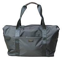 Легкая сумка Airtex износостойкая ткань малого размера серая Business 581/40 серая, фото 1