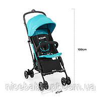 Прогулочная коляска Kinderkraft Mini Dot Turquoise, фото 9