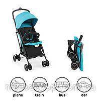 Прогулочная коляска Kinderkraft Mini Dot Turquoise, фото 2