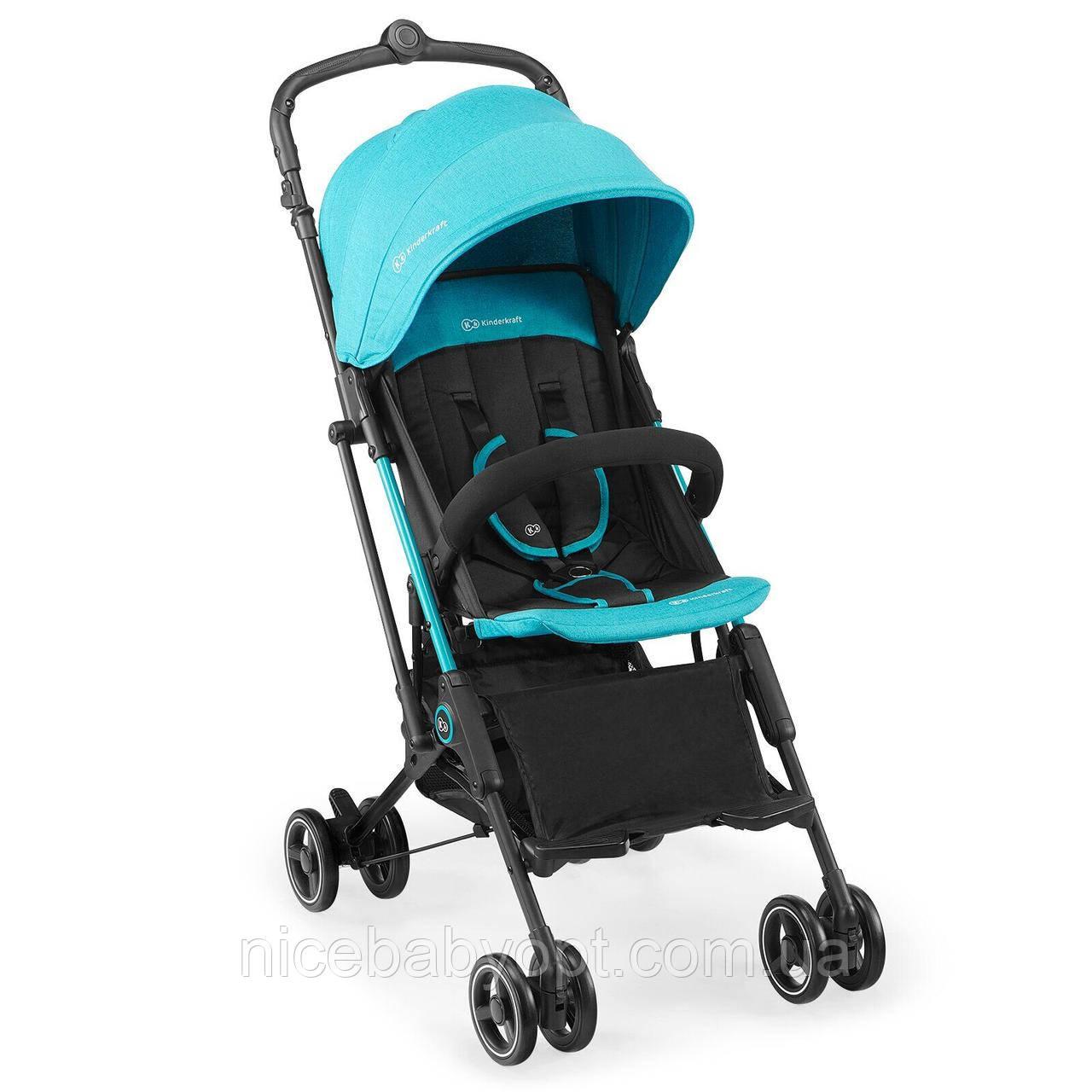 Прогулочная коляска Kinderkraft Mini Dot Turquoise