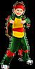 Детский карнавальный костюм Черепашки Ниндзя Код. 1346