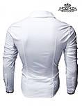Мужская стильная черная рубашка, фото 5
