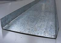Швеллер оцинкованный 100 мм, 60 мм, 40 мм, 30 мм 0,75-2мм