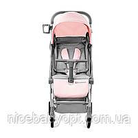 Прогулянкова коляска Kinderkraft Pilot Pink, фото 4