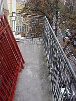 Ремонт балконного ограждения Киев