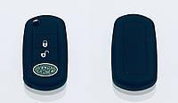 Силіконовий чохол на викидний ключ Land Rover