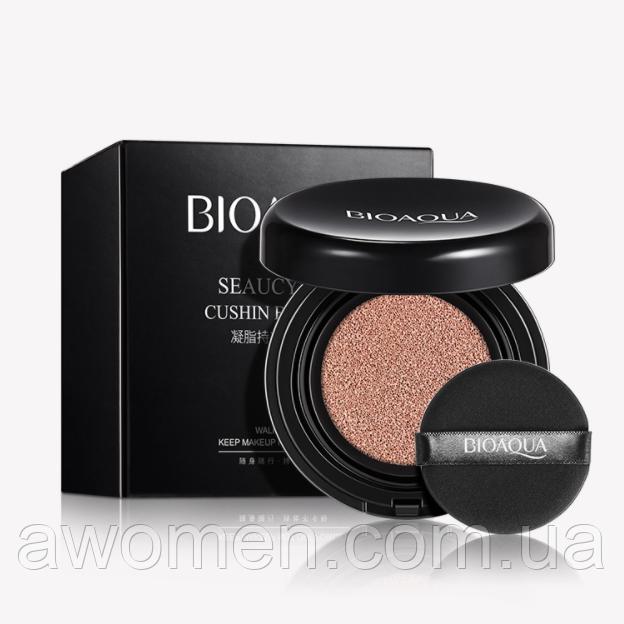 Зволожуючий Кушон Bioaqua Seaucysket Cushin BB Cream 15 g №2 (світлий колір)