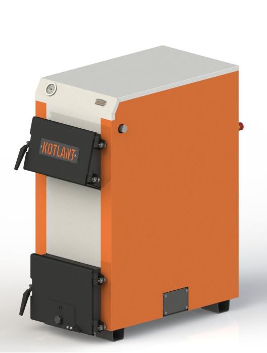 Твердотопливный котел с наклонной загрузкой Kotlant KH 24 кВт