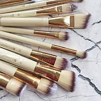 Кисти для макияжа в тубусе BH Cosmetics Studded Couture Brush, 12 шт.