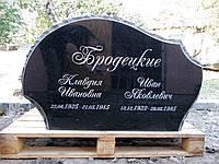 Памятник двойной из гранита Скала, фото 1