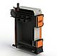 Твердопаливний котел тривалого горіння Kotlant КГ 15 кВт з механічним регулятором тяги, фото 2