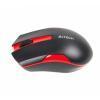 Мишка A4Tech G3-200N (G3-200N (Black+Red)) Black/Red Wireless