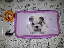 Пенал с собачкой для девочки CLASS Lovely Pets арт.95026, 2 молнии CLASS