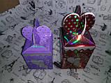 Коробка подарочная 1006-HAR-1201 (9х9х13см), сборная ( на фото - красная ), фото 3