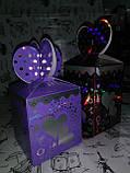 Коробка подарочная 1006-HAR-1201 (9х9х13см), сборная ( на фото - красная ), фото 4