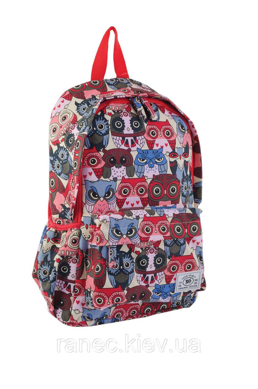 Рюкзак подростковый ST-15 Owls 553809 1 Вересня