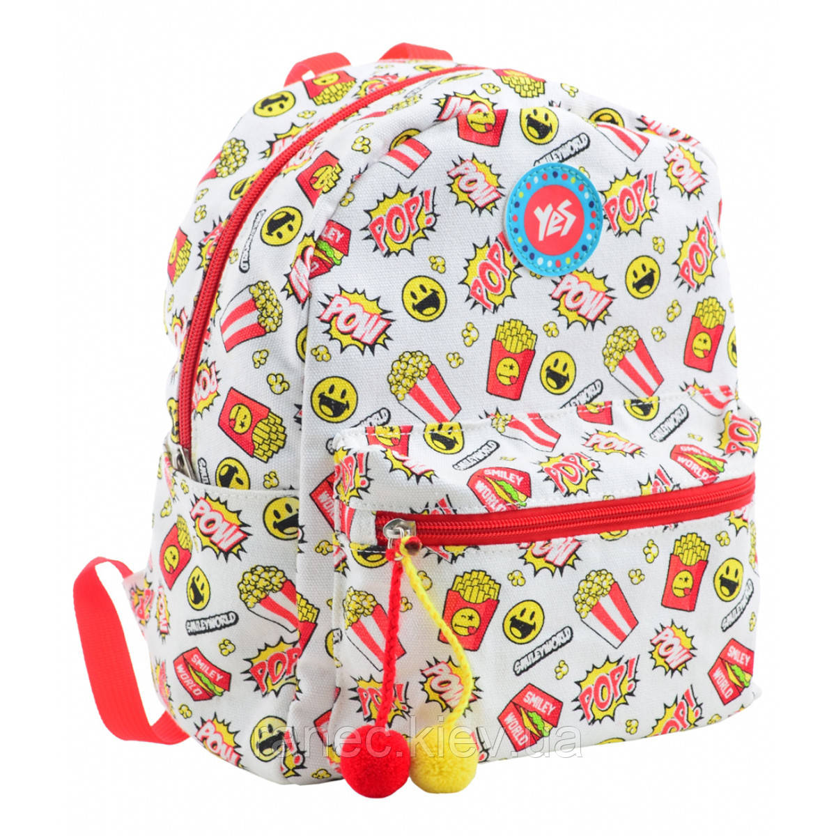 Рюкзак молодежный ST-32 POW 28*22*12 555435 Yes
