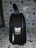 Сумка кейс портфель органайзер черный код Н5, фото 6