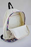 Рюкзак подростковый ST-15 Ethiopia beige 553562 1 Вересня, фото 4