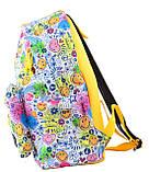 Рюкзак молодежный ST-17 Crazy smile, 42*32*12 554984, фото 3