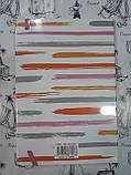 Блокнот на резинке  Арт. 5024 21.8*15,5см, клеточка ,  84  стр.  2 вида, фото 2