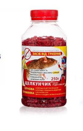 ЩЕЛКУНЧИК-250г ЗЕРНО в ПЭТ-бут. красн.-сыр
