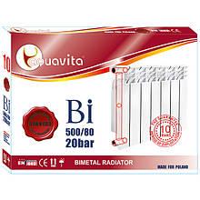 Секция радиатора алюминиевого AQUAVITA 500/80 L6, 20 бар