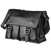 Солидный кожаный мужской портфель флотар 13970 Shvigel Черный, фото 1