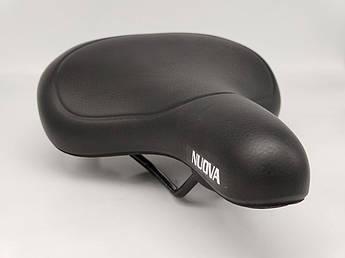 Сидіння для велосипеда NUOVA на пружинах Black
