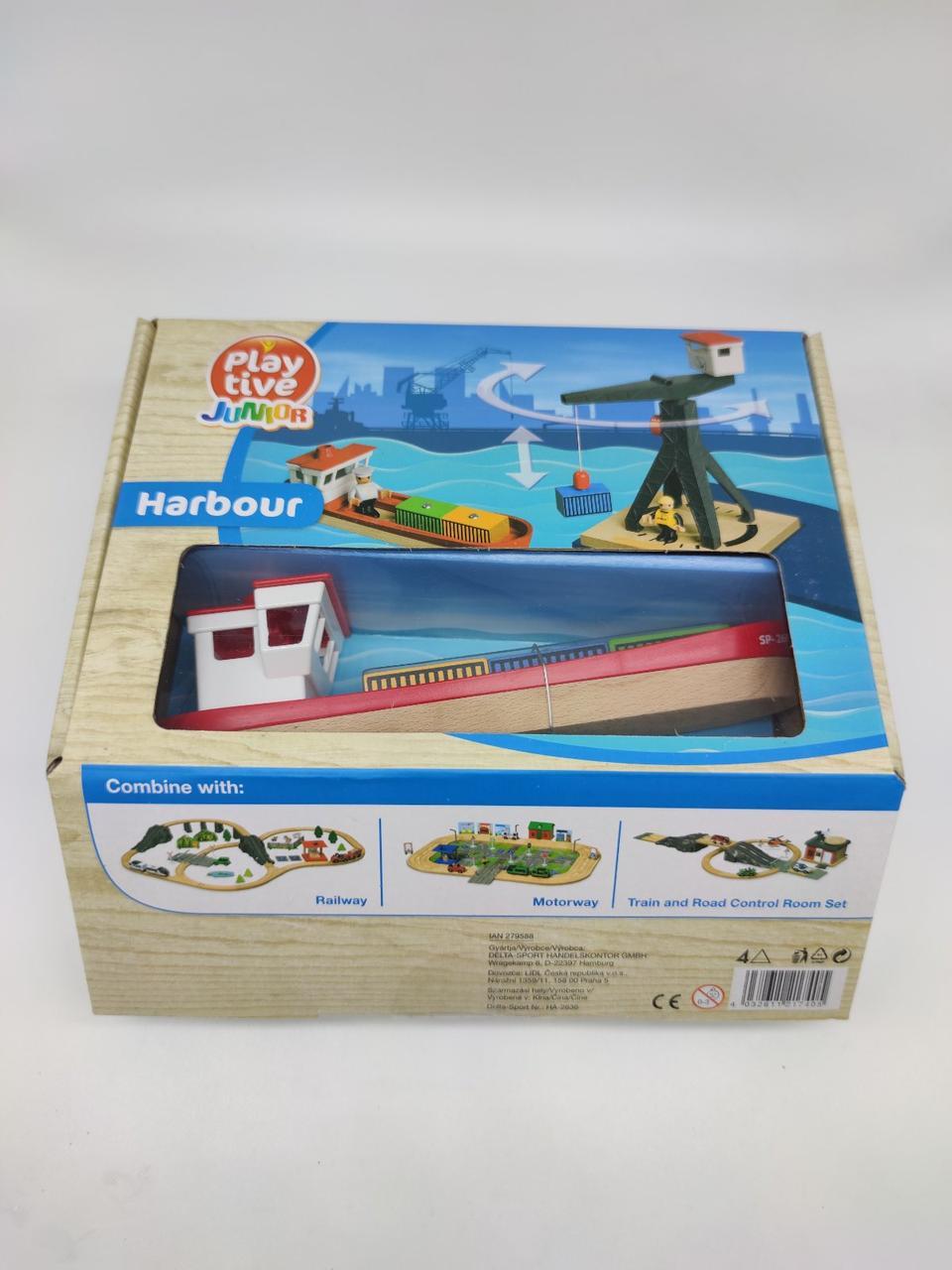 Порт для деревянной железной дороги Playtive Ikea Brio Ecotoys