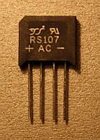Диодный мост RS107 (1A;1000V)