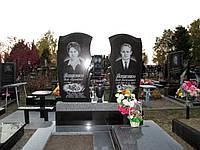 Памятник двойной из гранита №257