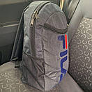 Рюкзак мужской Intruder. Цвет: темно-серый меланж, фото 3